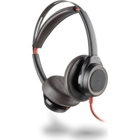 Poly Blackwire 7225 USB-A stereo headset, sort