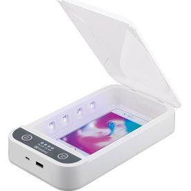 """Sandberg UV-steriliseringsboks 7"""" USB"""