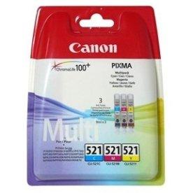 Canon CLI-521/2934B010AA blæk, 3-farver, 3x505s