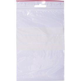 Lynlåspose med skrivefelt 120x180mm, 1000stk