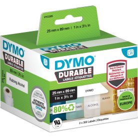 Dymo LabelWriter Durable etiketter str. 25 x 89 mm
