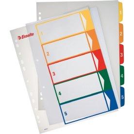 Esselte Maxi register A4, 1-5, til print